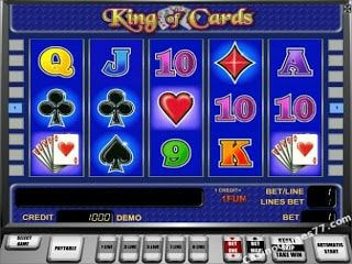 King of Cards slot pacanele