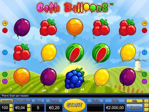cash ballons jocuri de aparate gratis