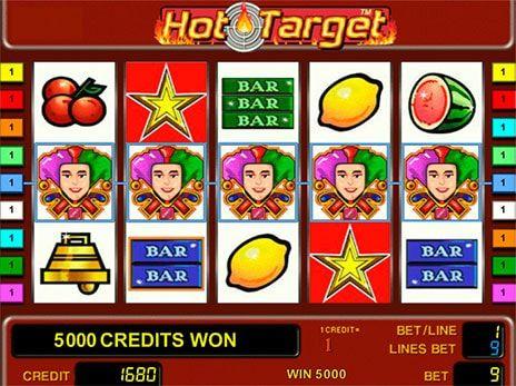 Joc de pacanele gratis Hot target
