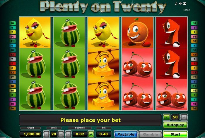 plenty-on-twenty-joc-online-casino