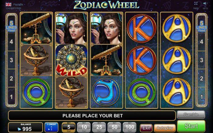 zodiac wheel joc online casino